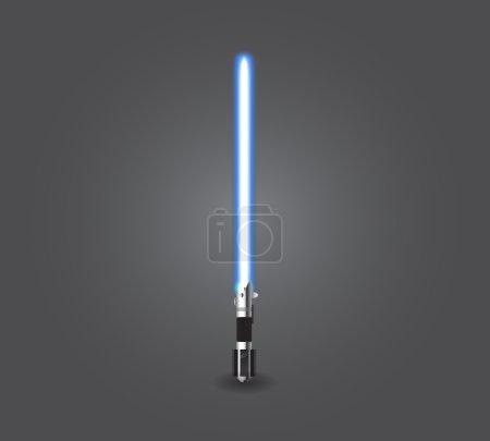 Blue light saber