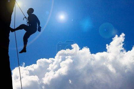 Rock Climbing on cloud