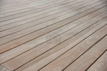 Photo for Wooden deck - Royalty Free Image