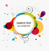 Abstract colorful background banner