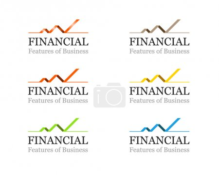 Corporate Financial or Business Logo Template - Vector