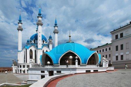 Photo pour Russie. ville de kazan. la mosquée de kul sharif - image libre de droit