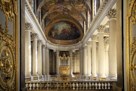 Royal Chapel of Versailles Palace, Paris, France