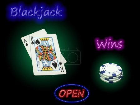 Open Blackjack Wins