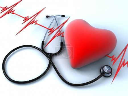 Photo pour Santé cardiaque - image libre de droit