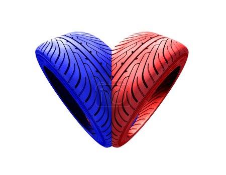 Tires heart
