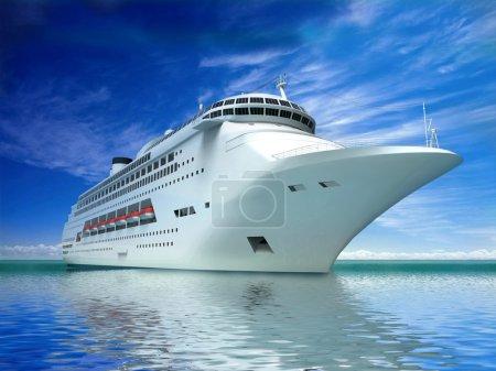 Photo pour Yacht de luxe - image libre de droit