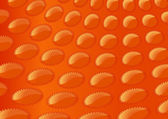 Abstract orange background with stars