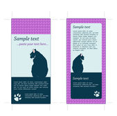 4x9 Rack Card Template with crop marks