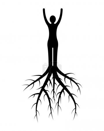 woman roots