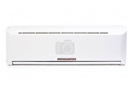 Air conditioning system on white background