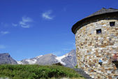 Tower in the alps