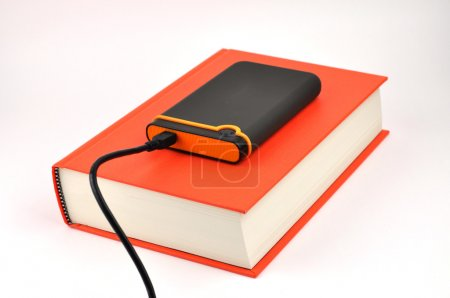 Portable Disk on Book