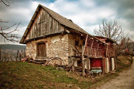 Mountain old lodge