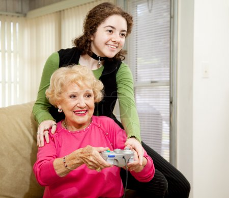Gaming With Grandma