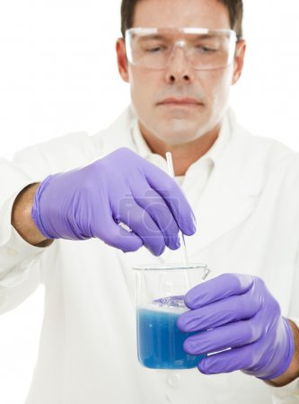 Mixing Compound in Laboratory