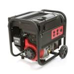 Gasoline powered, ten horsepower, emergency electr...