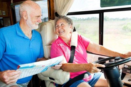 RV Seniors Reading Map
