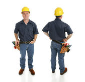 Construction Worker Two Views