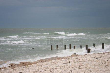 Beach Before Hurricane