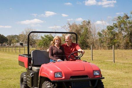 Mature Couple - Fun on the Farm