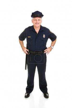 Police Officer Full Body Front