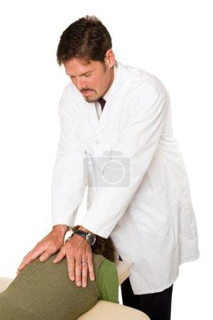 Chiropractor Working