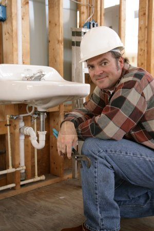 Friendly Construction Plumber
