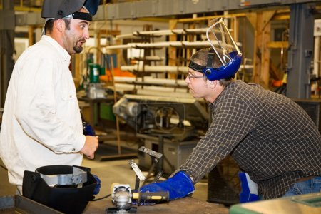 Metal Worker and Supervisor
