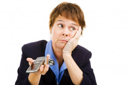 Businesswoman - Phone Not Ringing