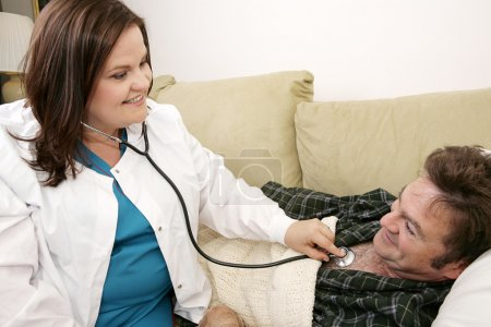 Home Health - Friendly Nurse