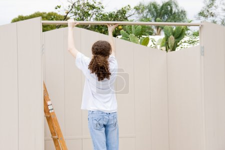 Teen Builds Shed