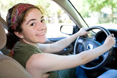 Pretty Teen Driver