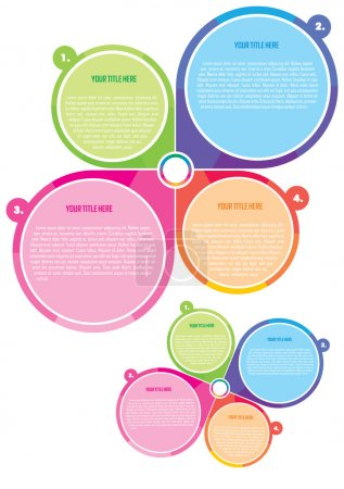Poster And Brochure Color Vector Concept