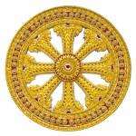 Wheel of dhamma of buddhism...