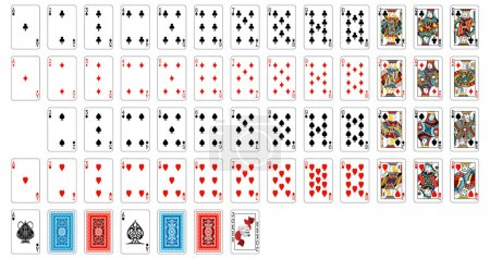 Illustration for Complete deck of cards - Royalty Free Image
