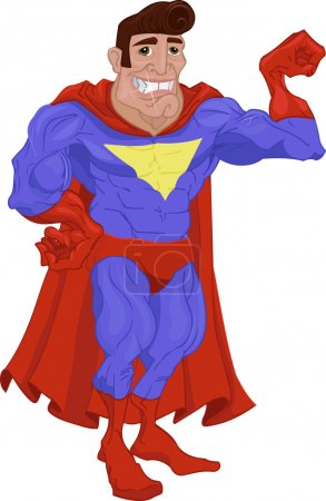Illustration for Super hero - Royalty Free Image
