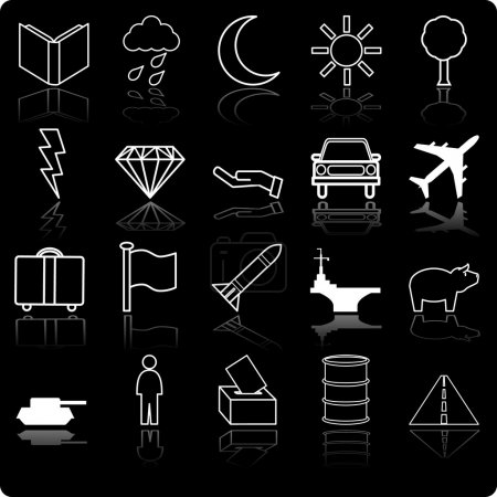 Demographic and Population icon series set Icon