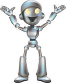 A very cute robot character available in several poses