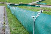 Krötenzaun To Protect Amphibian Wildlife