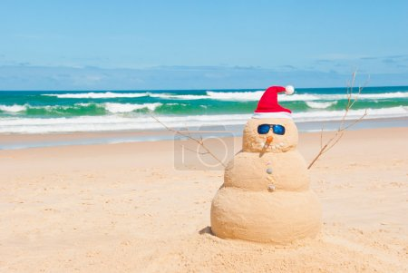 fun nobody on shape christmas greeting