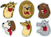 Smiling Face Fridge Magnet-Stickers (Animals) 2