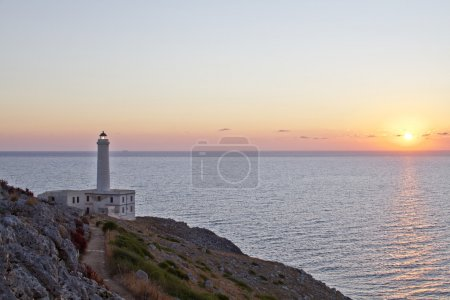 Photo for Faro con alba - Royalty Free Image
