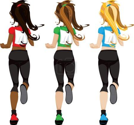 Female Marathon Jogger