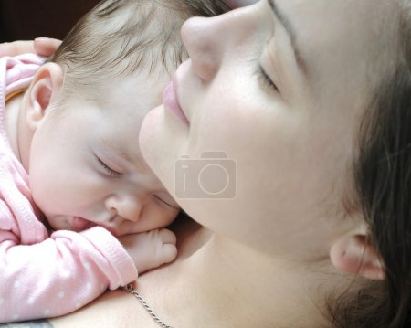 Photo for Beautiful baby girl sleeping - Royalty Free Image