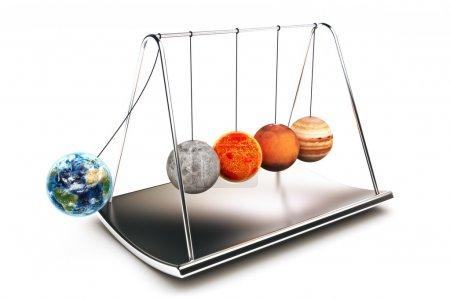 Newton balls concepts