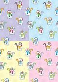 Snowman Seamless Patterns