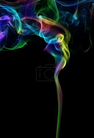 Photo for Colorful smoke - Royalty Free Image