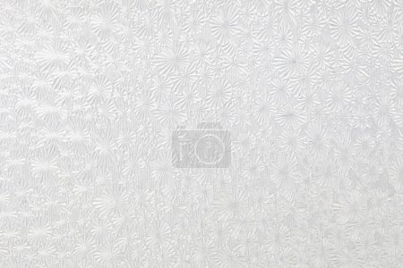Ice-crystal or snowflake design privacy glass for background or texture.