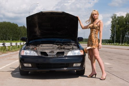 The help of under repair broken car is necessary to the helpless
